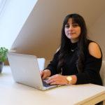 Rozalin, AGU-elev på FGU Midt- og Østsjælland